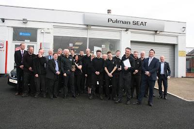 pulman seat team