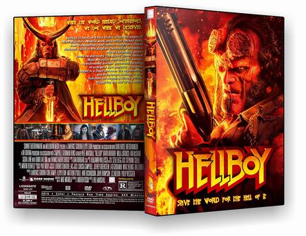 Hellboy 2019 DVD-R  AUTORADO