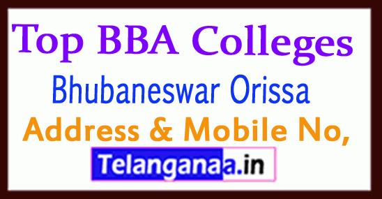 Top BBA Colleges in Bhubaneswar Orissa
