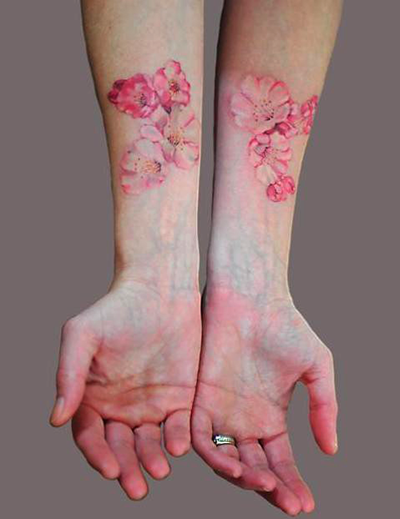 Brown Ink Tattoo: Brilliant In Brown: Ink