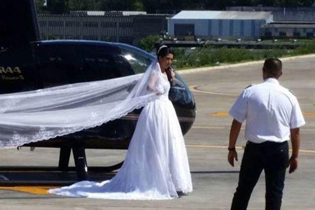 brazil bride dies helicopter crash meant surprise