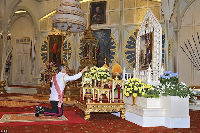 Prince Maha Vajiralongkorn ascends throne