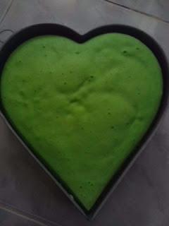 kue bolu hijau pandan