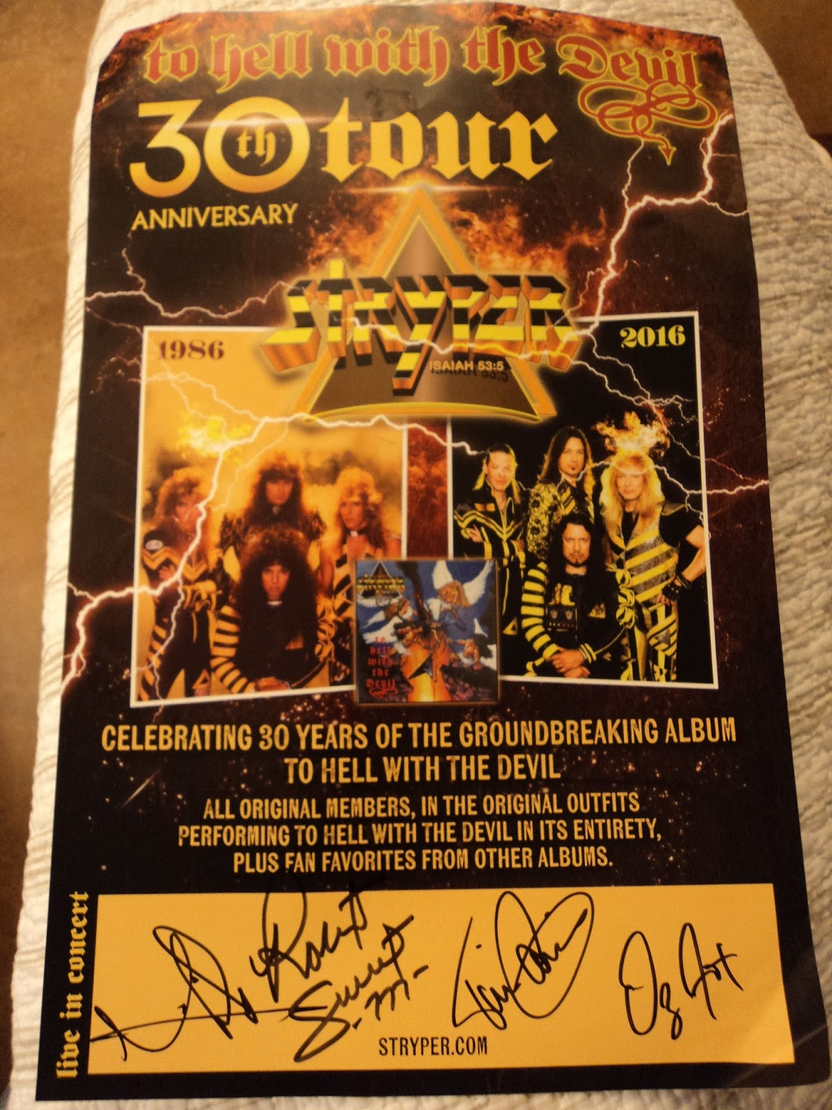 American Wind Concert Report Stryper To Hell With The Devil