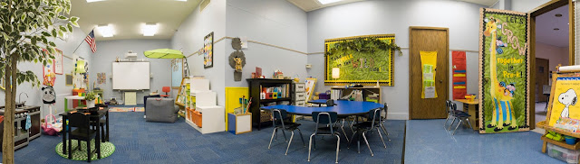 Beautiful, bright jungle/safari classroom decor! Love this classroom theme!