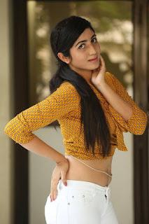 Actress Kalyani  Pictures at Thu Hi Re Meri Jaan Movie Press Meet  0059