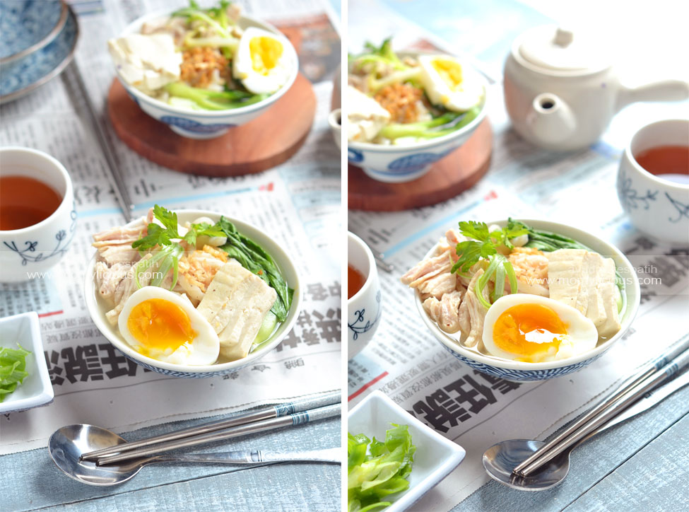 Chiken Soup Udon