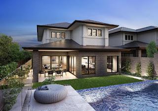 Desain Rumah Mewah Minimalis 2 Lantai Model Baru Kekinian