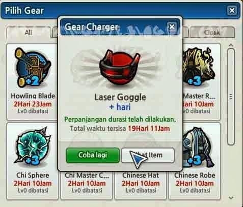 Durasi Rare Gear meningkat 10 hari