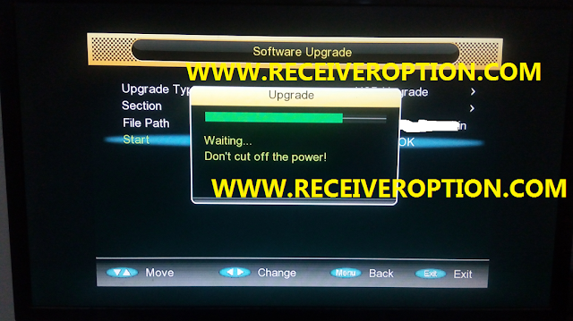 GX6605S HW203.00.012 POWERVU KEY NEW SOFTWARE WITH STARSAT MENU
