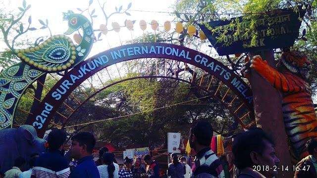 Surajkund mela 2018 : the world largest hand craft mela