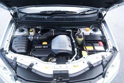Foto Mesin Bensin Chevrolet Captiva pre-facelift