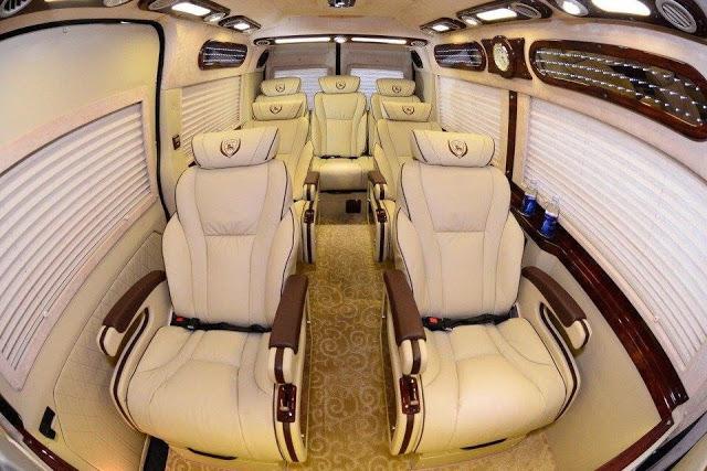Xe Limousine đưa đón khách khu vực Gò Vấp, Tân Phú, Tân Bình về Vũng Tàu