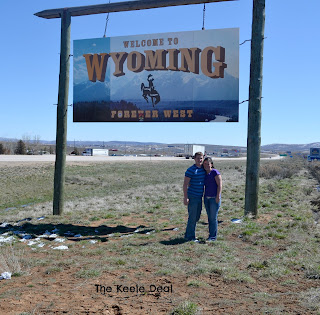 Wyoming -Visit all 50 States Bucket List