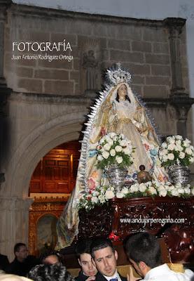 Procesión Virgen de la Cabeza Baeza