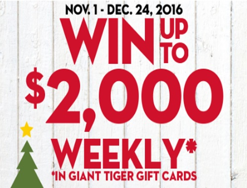 Giant Tiger Comfy Cozy Christmas Contest