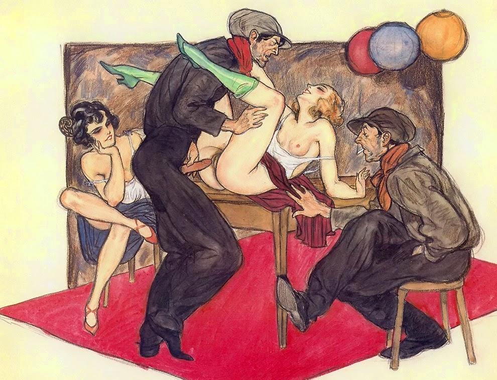 рисунок эротика фривольная примитивный