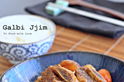 Galbi Jjim (Korean Braised Beef Short Ribs)