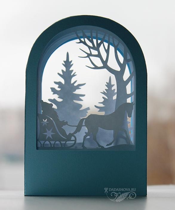 осенний открытки туннели шаблоны зима упражнение гантелями