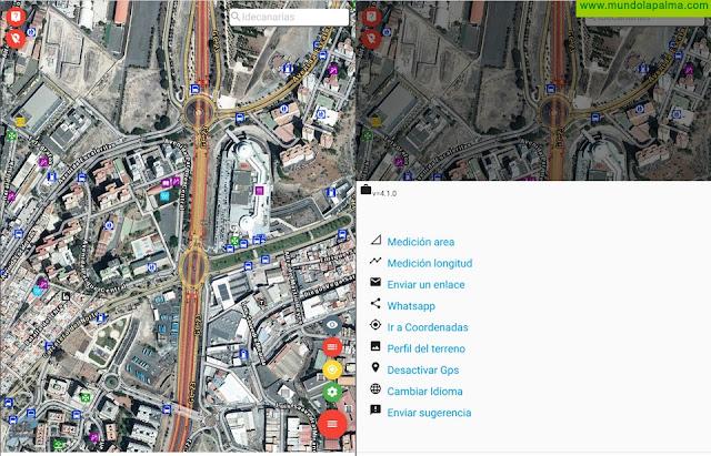 Grafcan pone a disposición de sus usuarios el visor de IDECanarias para dispositivos móviles