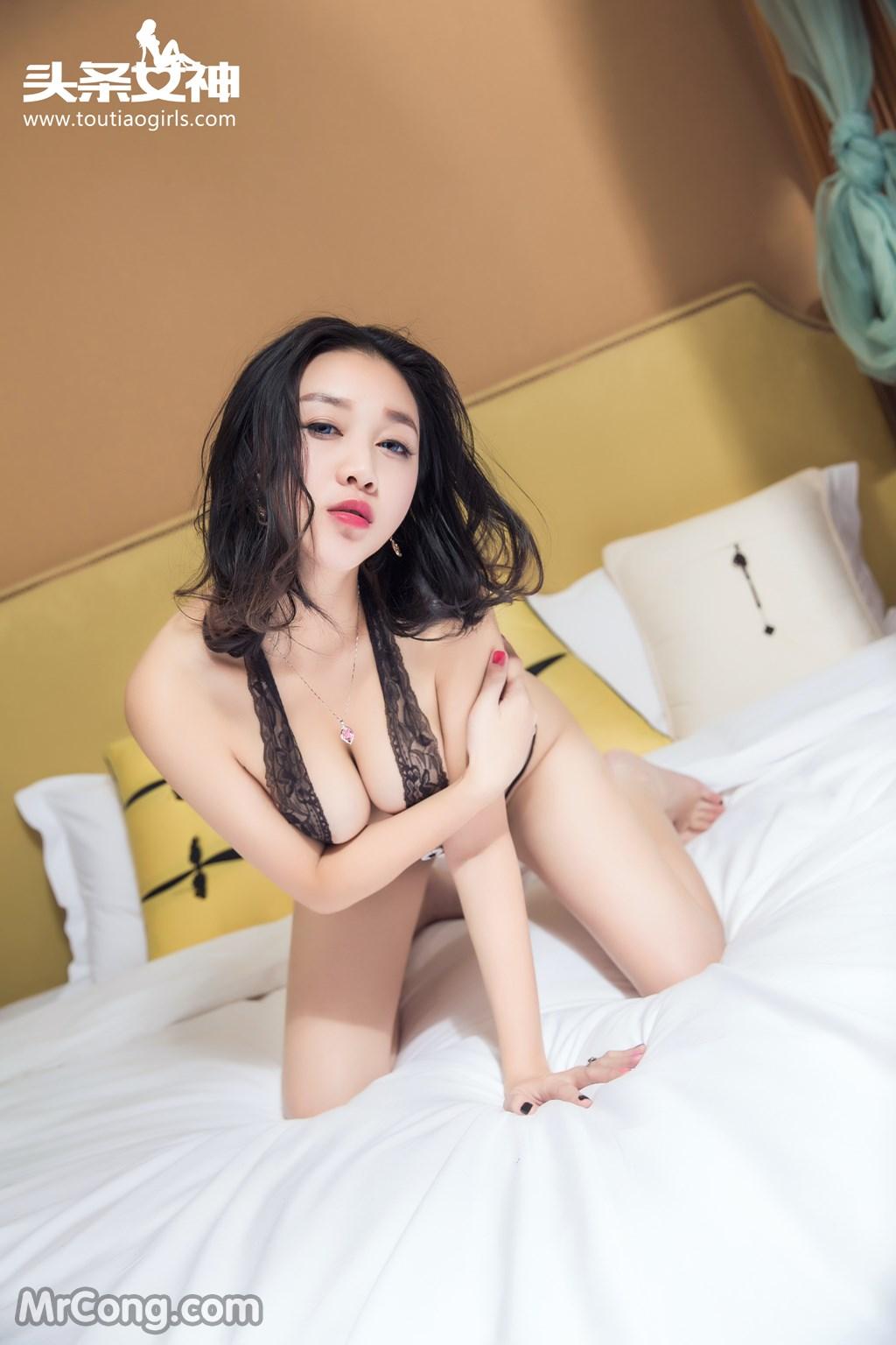 Image MrCong.com-TouTiao-2016-12-14-Zhang-Zi-Ran-005 in post TouTiao 2016-12-14: Người mẫu Zhang Zi Ran (张梓然) (24 ảnh)
