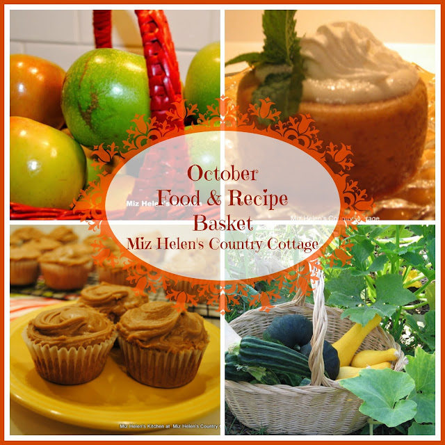 October Food & Recipe Basket at Miz Helen's Country Cottage