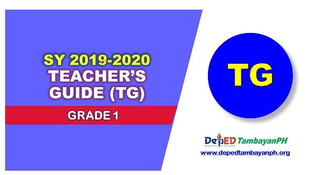 Teachers Guide (TG) | Grade 1