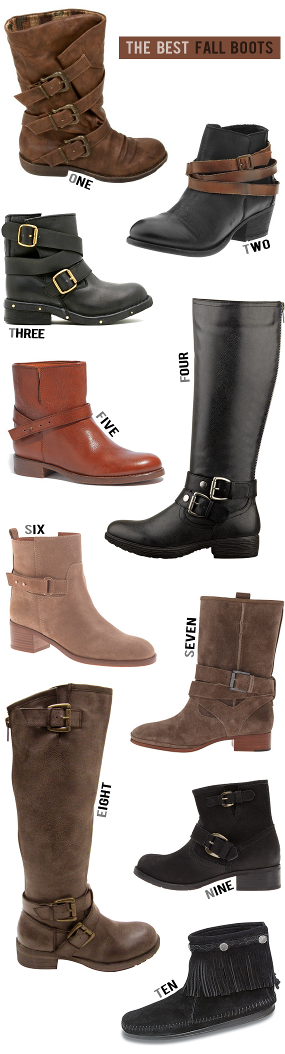 The 10 Best Boots for Fall 2013 // Bubby and Bean