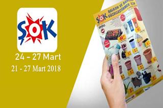 Şok Market 24- 27 Mart 2018 aktüel ürünler broşürü
