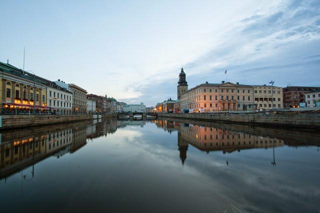 Goteborg centro di sera