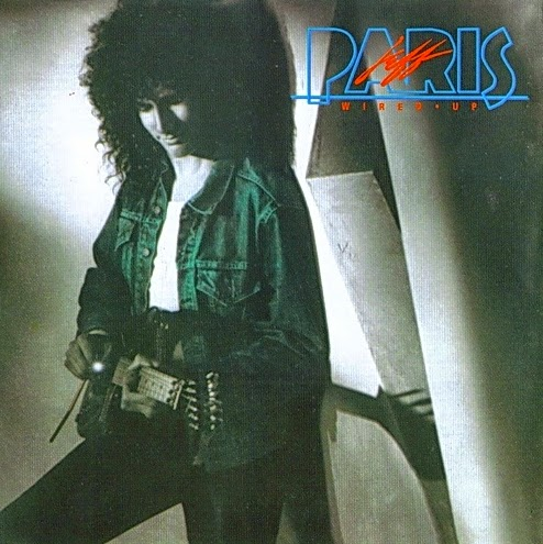 Jeff Paris Wired up 1987 aor melodic rock music blogspot bands albums