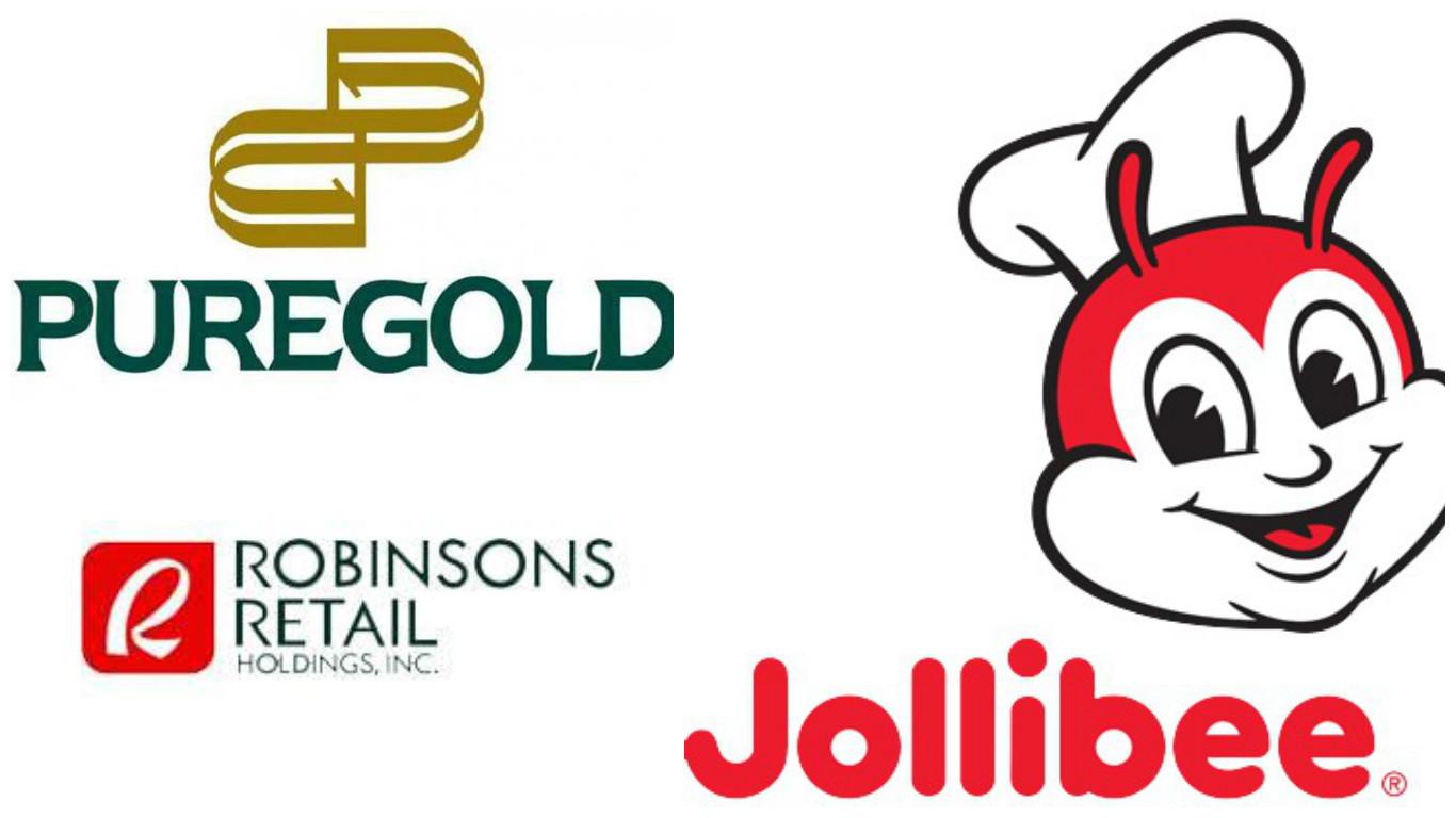 Jollibee, Robinsons, Puregold Asia Fab 50 companies