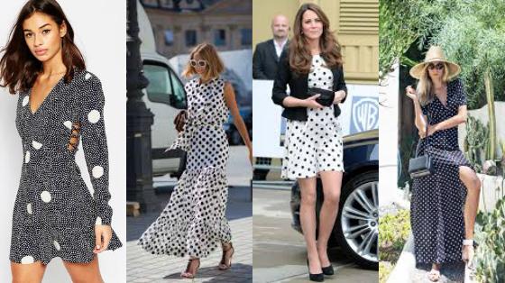 vestidos de poá