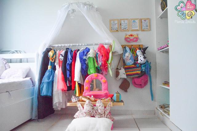 O quarto das menina - Decoração a partir de R$1,50.