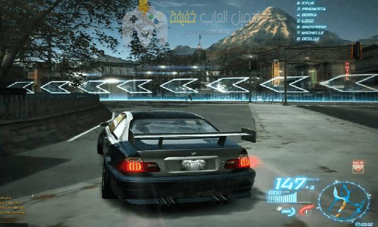 تحميل لعبة Need For Speed World 2010 Offline للكمبيوتر مضغوطة