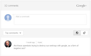 Google Adds Google+ comments Widget