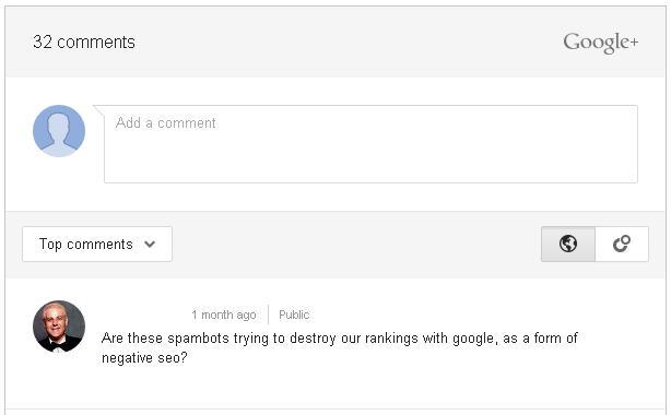 Google Adds Google+ comments Widget to replace default Blogger comment box