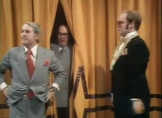 Morecambe and Wise, and Elton John