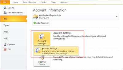 cara membuka file PST yang di password-1