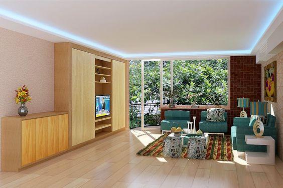 3dsMax現代客廳設計作品