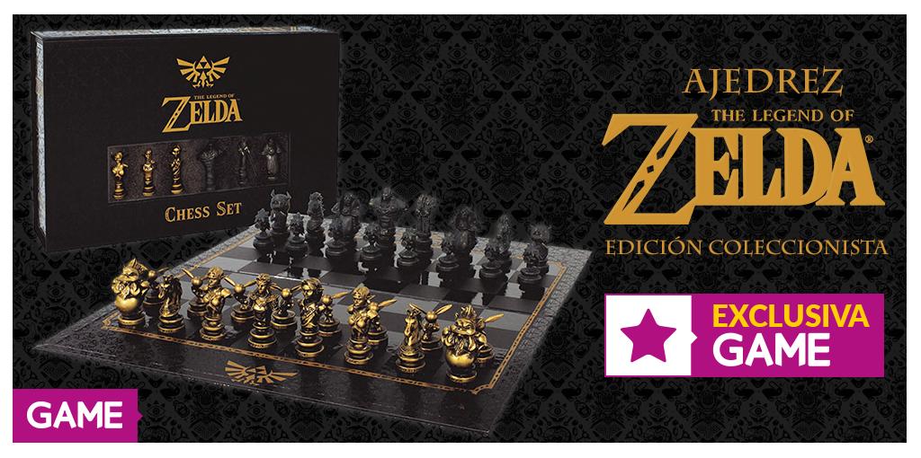 ¡No te pierdas este exclusivo ajedrez de Zelda de GAME!