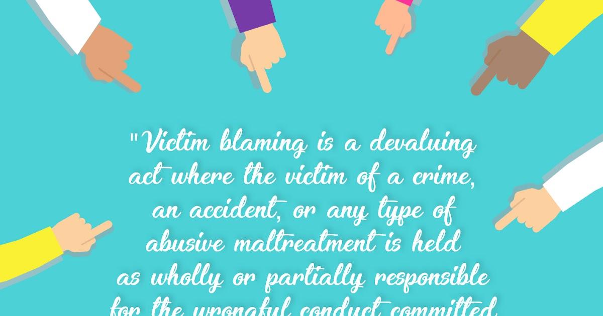 Victim Blaming Pada Kasus Kekerasan Oleh Pasangan