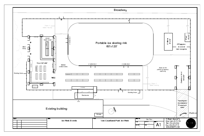 Ice Rink Dimensions