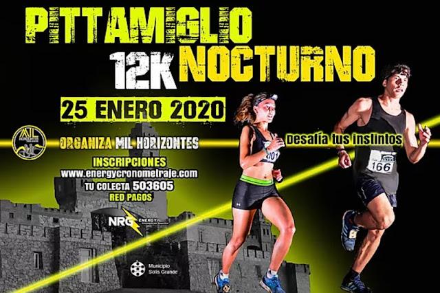 12k Pittamiglio nocturno (Balneario Las Flores - Maldonado, 25/ene/2020)