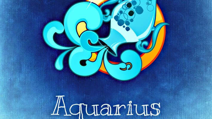 Wallpaper: Horoscope - Aquarius