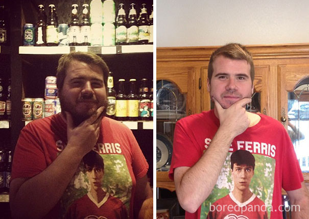 10+ Before-And-After Pics Show What Happens When You Stop Drinking - 500 Days Sober