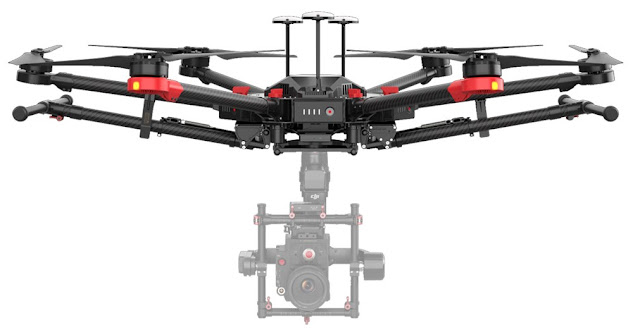 Fotografia del Drone DJI M600 Pro