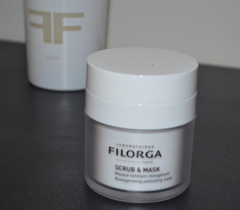 Masque exfoliant Réoxygénant SCRUB & MASK des Laboratoires Filorga