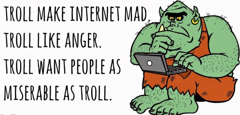 Don't feed the trolls - This Northern Soul