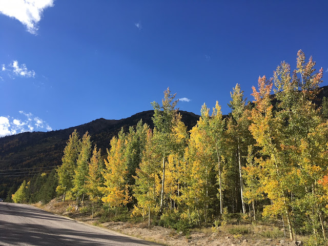 Fall on its way on Berthoud Pass in September 2018